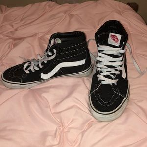 Vans high tops. Worn a hand full of times